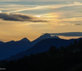 Sunset at Nuarsaz
