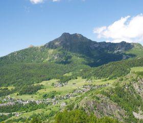 Becca d'Aver, versante orientale