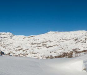 Panorama dal Rifugio Jervis