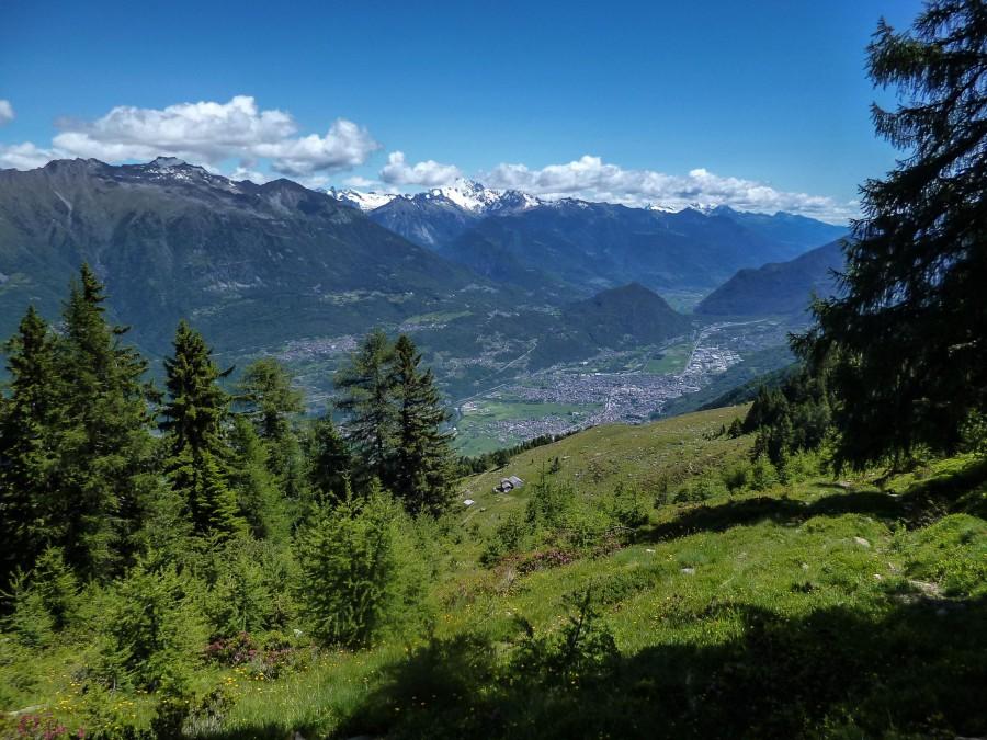Panorama dall'Alpe Tagliata ©2013 Marco Bonati