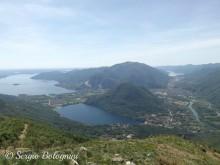Cime e laghi dal Monte Fayè
